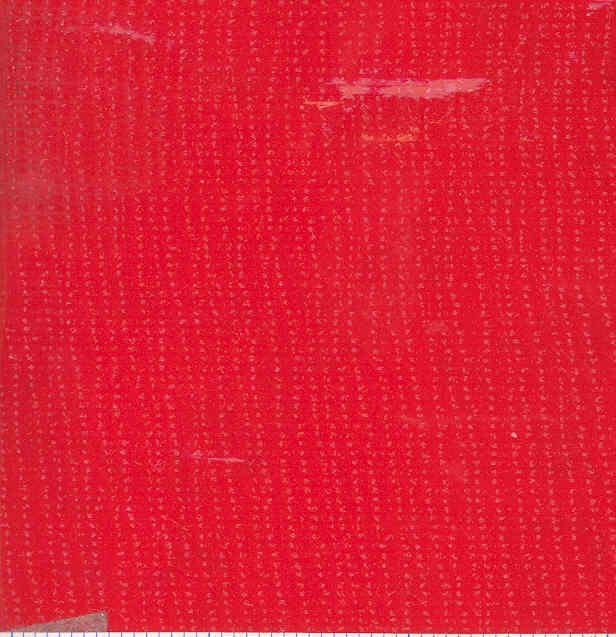 Oil Cloth Solid Red