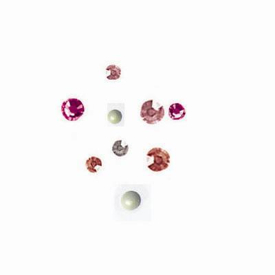 Bridal Rose Sweetheart Swarovski Crystal Compact 188/pcs