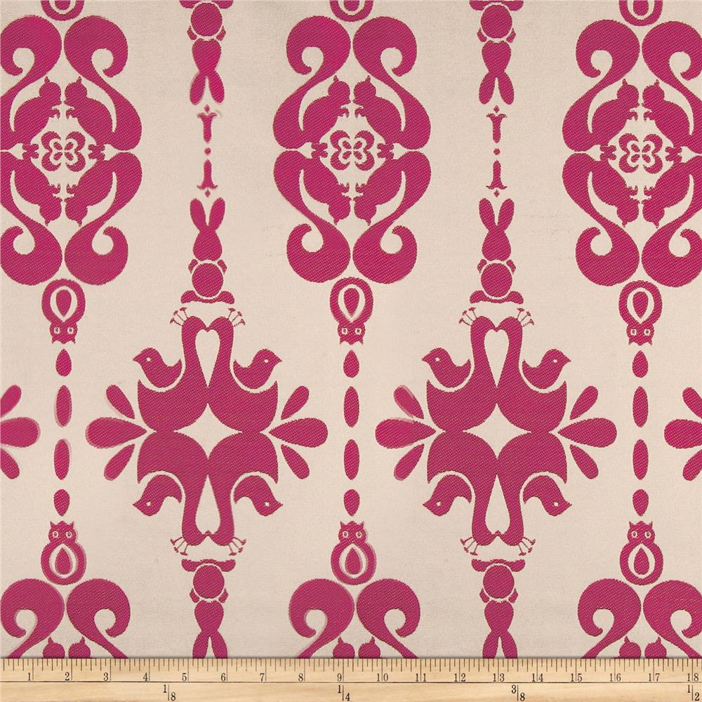 Claridge Zoo Jacquard Fuchsia