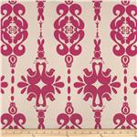 UP-755 Claridge Zoo Jacquard Fuchsia