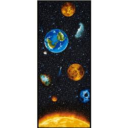 "I Want My Space 57"" Wide Plantets of the Sun Panel Multi"