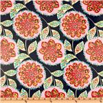 UM-727 Amy Butler Laminated Cotton Lark Charisma Midnight