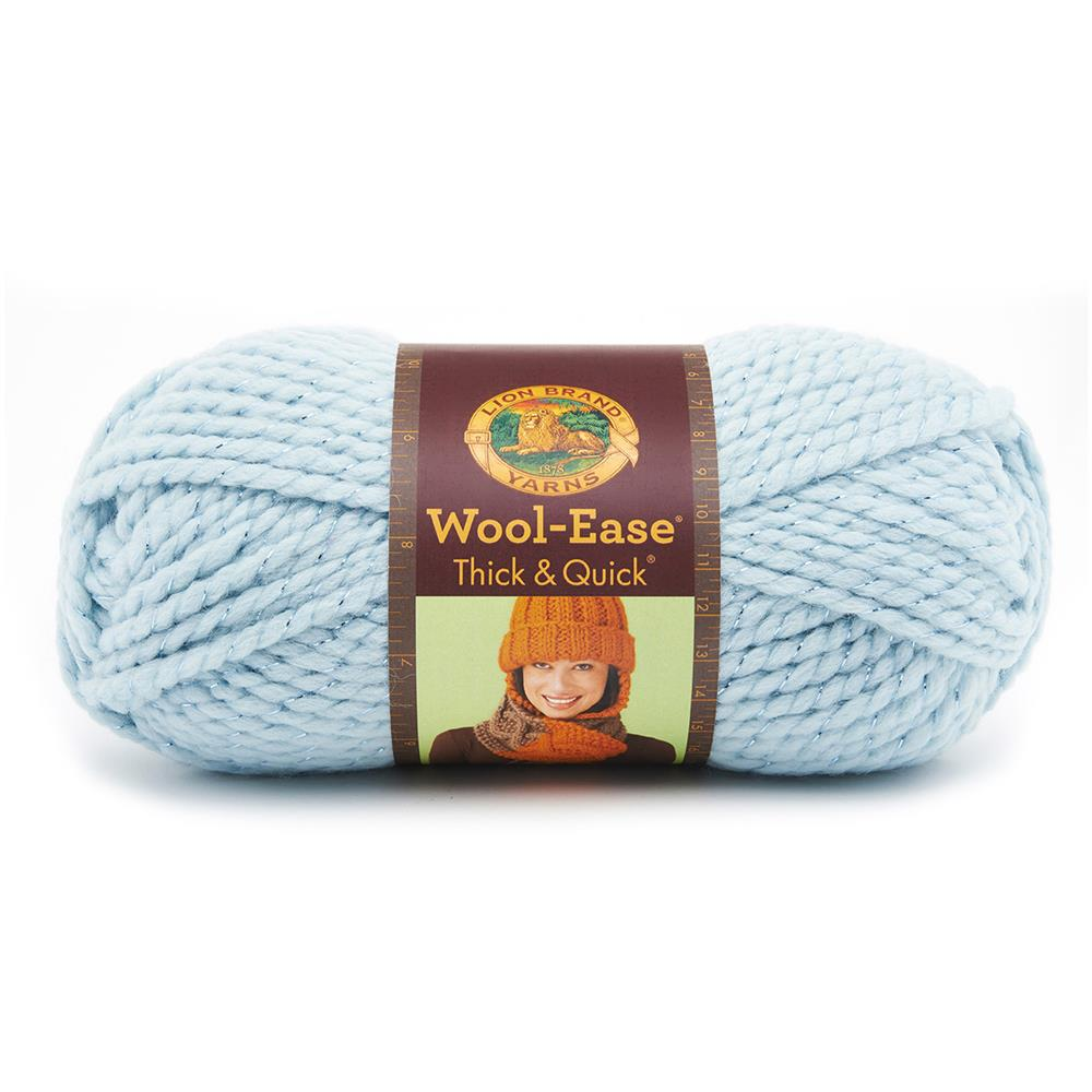 Lion Brand Wool-Ease Thick & Quick Yarn (307) Mystical