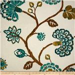 236387 Richloom Ampersand Matelasse Teal