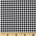 Rooster Royale Houndstooth Black/Cream