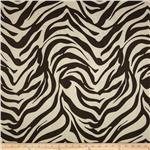 Tempo Zebra Suede Brown