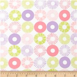 Cozy Cotton Flannel Circles Pastel