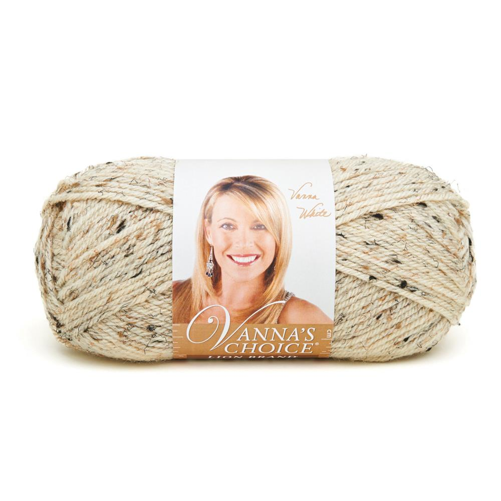 Lion Brand Vanna's Choice Yarn Oatmeal (400)