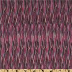 Designer Chiffon Shutter Berry/Brown