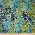 205866 Tonga Batik Lemon Poppy Flourish Mermaid
