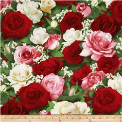 Bed of Roses Large Floral Multi