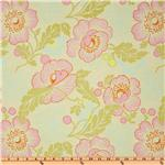 BS-978 Amy Butler Midwest Modern II Fresh Poppies Ivory