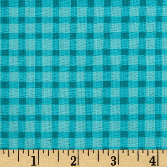 Best Friends Gingham Aqua