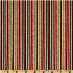 Winter Parade Stripe Red/Green