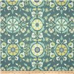 Richloom Eric Jacquard Aquamarine