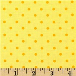 Moda Celebration Dots Yellow