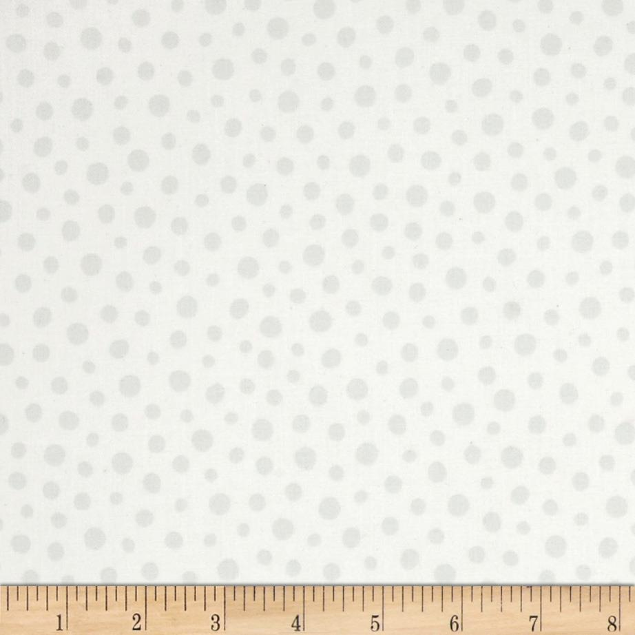 Sunburst Contempo Dots Tonal White