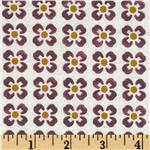 Floral Tiles Mauve