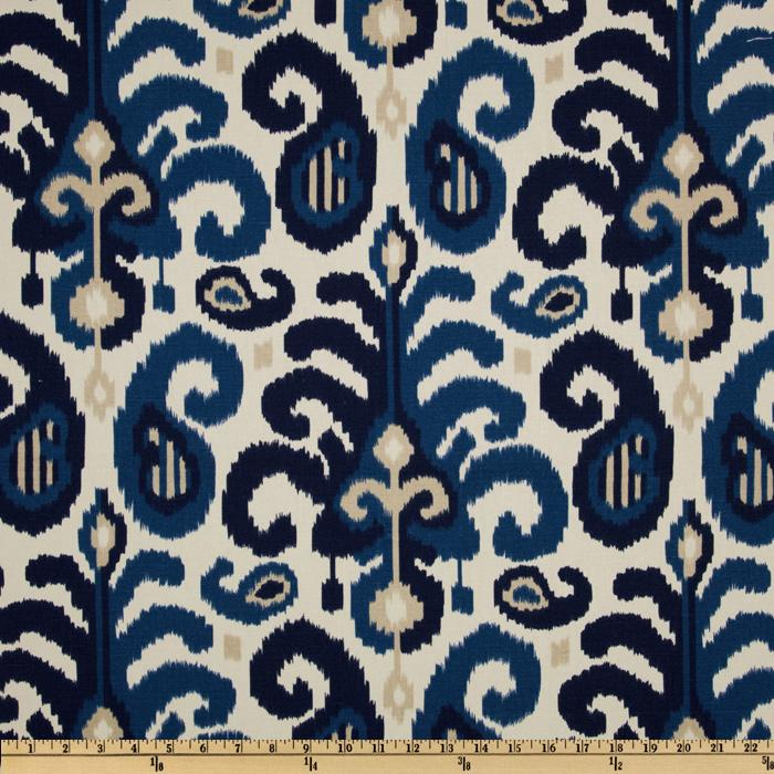 Suburban Rasul Ikat Blue