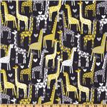 EZ-811 Michael Miller Giraffe Love Gray