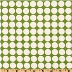 EU-446 Cozy Cotton Flannel Dots Celery