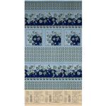 FJ-247 Alsace Tablecloth Panel Blue