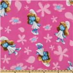 ER-163 Smurfette Fleece Pink
