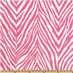 UJ-411 P Kaufmann Indoor/Outdoor Zebra Skin Spring Pink