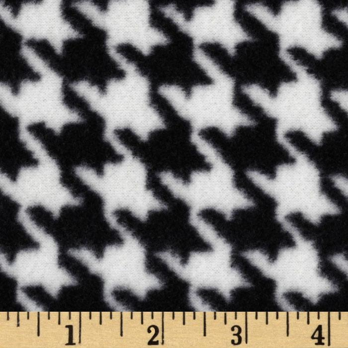 WinterFleece Houndstooth Black/Ivory