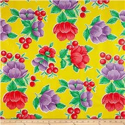 Oil Cloth Poppy Yellow