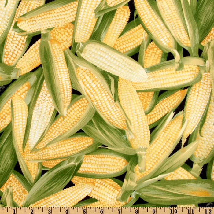 Farm Fresh Ear Of Corn Yellow