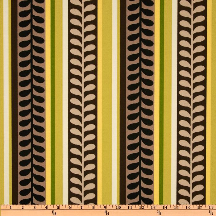 Richloom Solarium Outdoor Pike Stripe Jasper