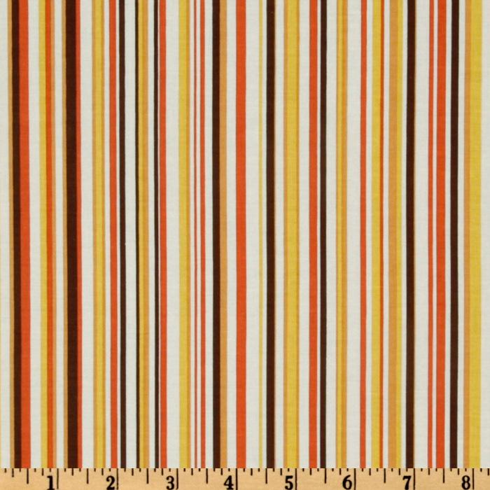 Decadence Stripe Brown/Multi