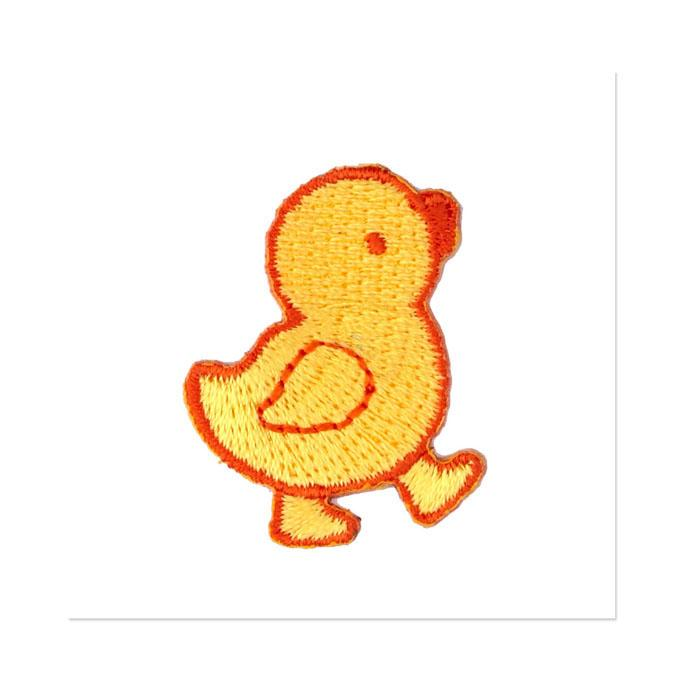 Boutique Applique Chick Yellow/Orange