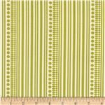 0284147 Style Mod II Stripe Olive/Cream