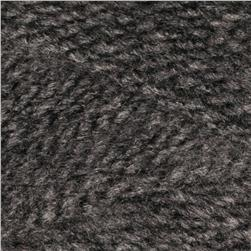 Lion Brand Jiffy Yarn (159) Dark Grey Heather