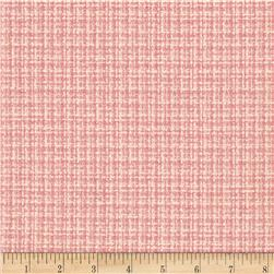 Wool Blend Coating Pink/Ivory