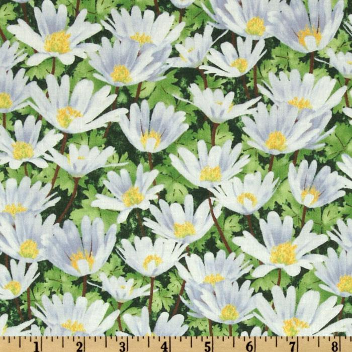 Garden Magic Medium Floral White