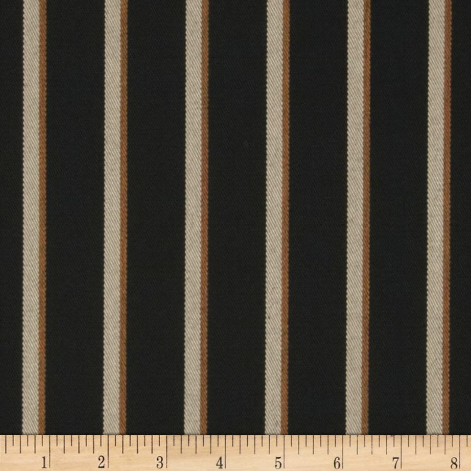 Sunbrella Outdoor Harwood Stripe Onyx