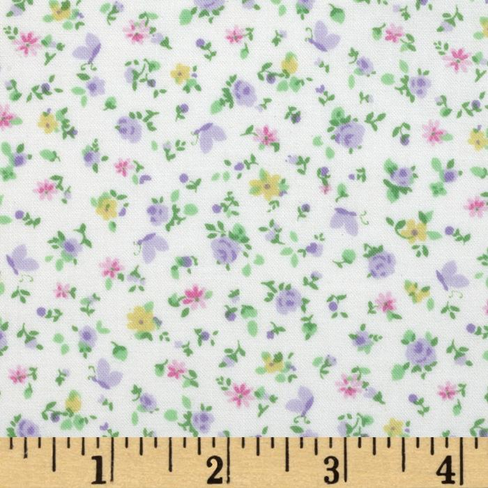Baby Business Baby Florals Purple