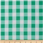 0262199 Tea Cakes Checkered Napkin Jade