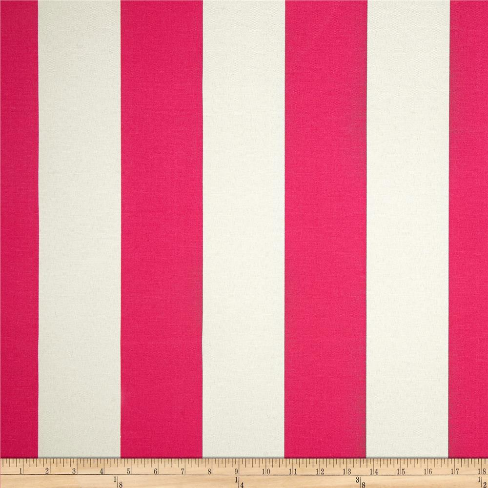 Premier Prints Indoor/Outdoor Vertical Stripe Preppy Pink