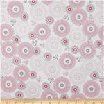 214998 Riley Blake Willow Large Medalllion Pink