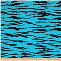 Animal Activewear Knit Zebra Turquoise/Black