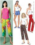 KP-3314 Kwik Sew Learn To Sew Pants and Shorts Pattern