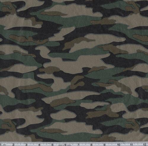 Flannel Backed Vinyl Camo