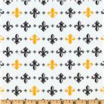 EC-387 Metro Living Fleur De Lis Gold