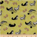 Goodnight Moon Cats &amp; Mittens Yellow