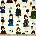 Holiday Paper Dolls Vintage