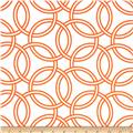 Michael Miller Bekko Home Decor Swirl Tangerine